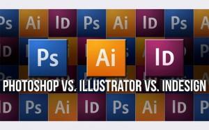 PhotoshopVSillustratorVSindesign